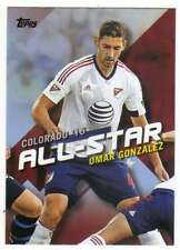 2016 Topps MLS Soccer All Stars #MLSA-5 Omar Gonzalez LA Galaxy