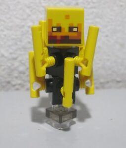 Lego Minecraft BLAZE Minifigure from sets 21122 21143 minifig