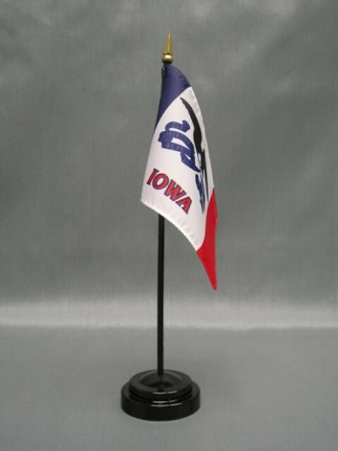 """MEXICO 4X6/"""" TABLE TOP FLAG W// BASE NEW DESK TOP HANDHELD STICK FLAG"""