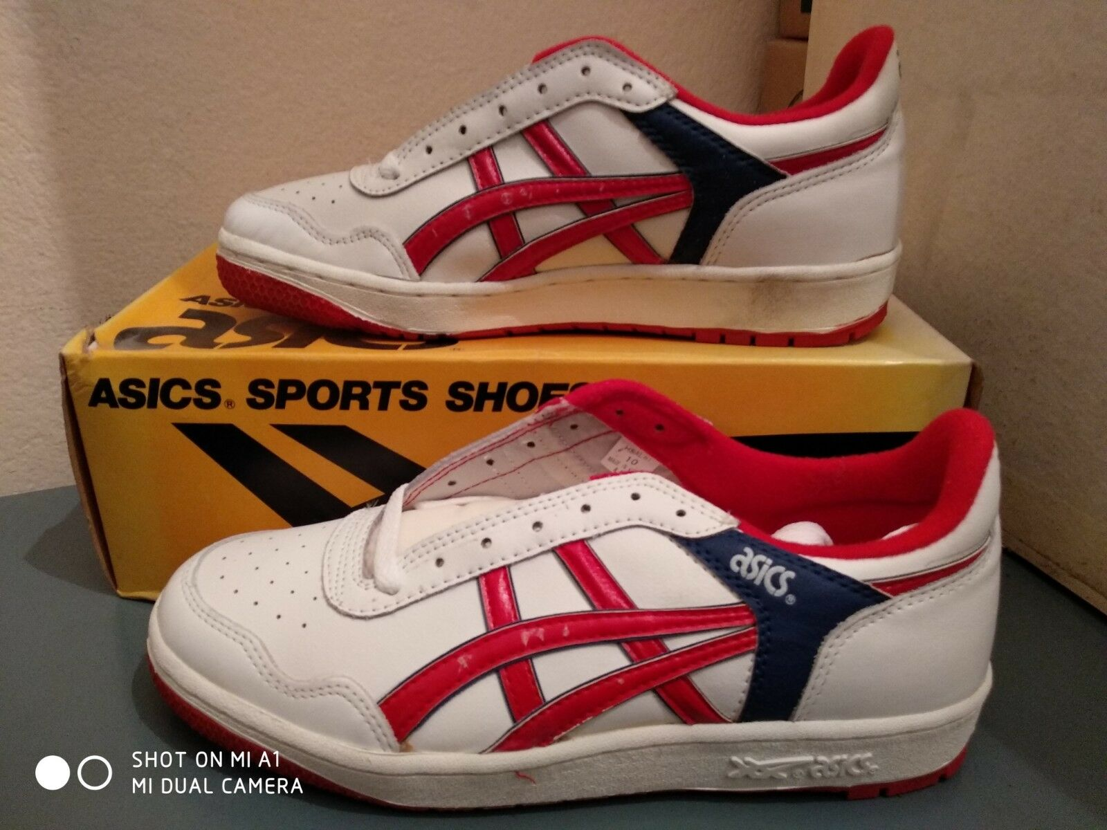 004b41fe93 Vintage asics hipster low shoes good condition size us 10
