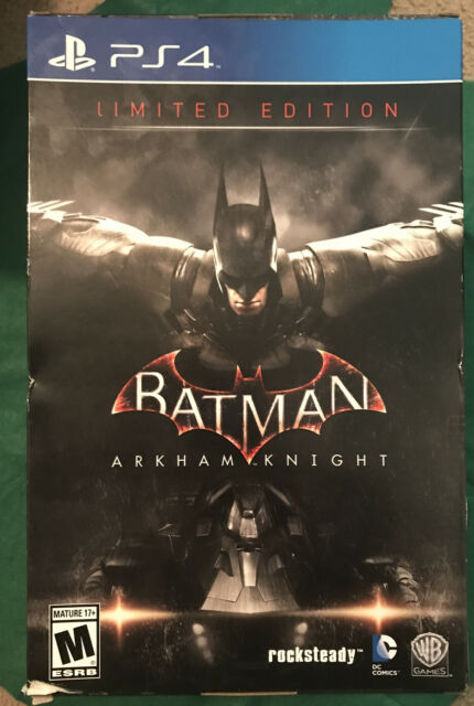 Batman: Arkham Knight Limited edition Brand New (PlayStation 4, 2015)