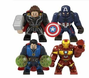 Thanos 2-Raro Bonecos Lego Personalizada Grande Venom Thanos Marvel Hulk Iron Man Moc