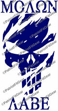 Punisher Skullpunisher Molon Labe2acome And Take Itstickersvinyl Decal