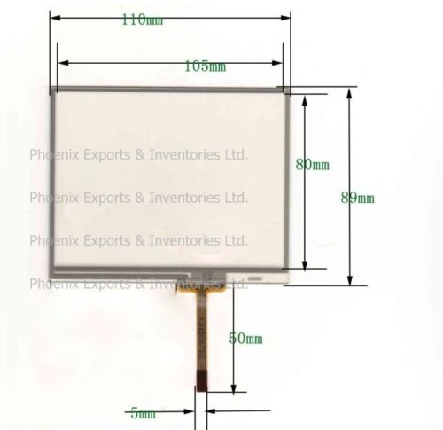 Brand New Touch Screen 110*89 mm Touch panel pad 110X89