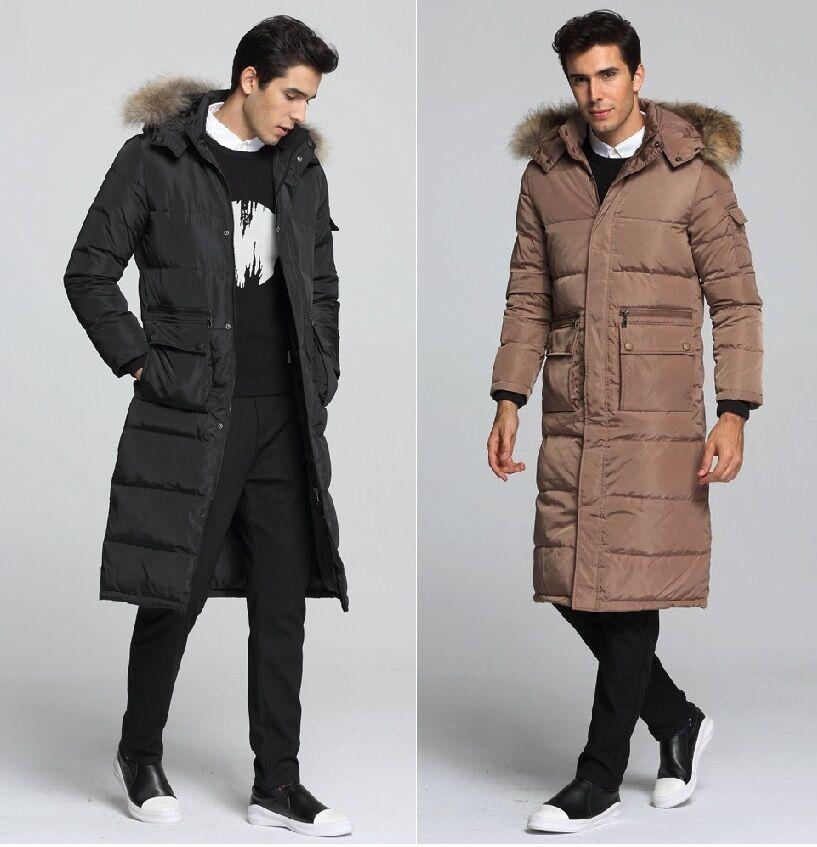 Duvet Manteau Hiver Manteau Homme Doudoune Pour Homme Manteau Long