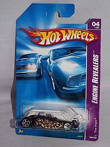 Hot-Wheels-2007-Engine-Revealers-Series-060-Tire-Fryer-Black-w-Flames
