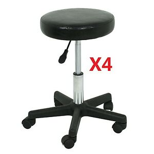 Lots 4 Adjustable Height Tattoo Salon Stool Rolling Chair