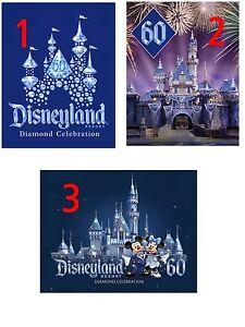 Calif - DISNEYLAND 60 - Diamond Celebration - Special Offer!!!  Lot of 3 Magnets
