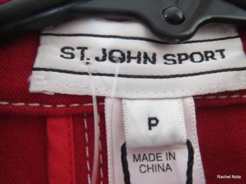 P Ny St 634206710038 Jacket Stretch Sz Cotton Hvid Rød 495 Broderet Stripet John Blazer wARAqxtrY