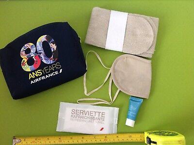 Commemorativa 80 Anni Ans Airfrance Airlines Regalo Make Up Pochette Custodia Raro- Così Efficacemente Come Una Fata