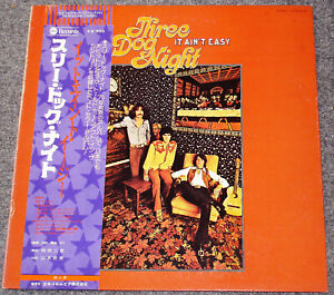 Three Dog Night It Ain T Easy 1970 Japan Promotional Abc Lp W Obi M Ebay