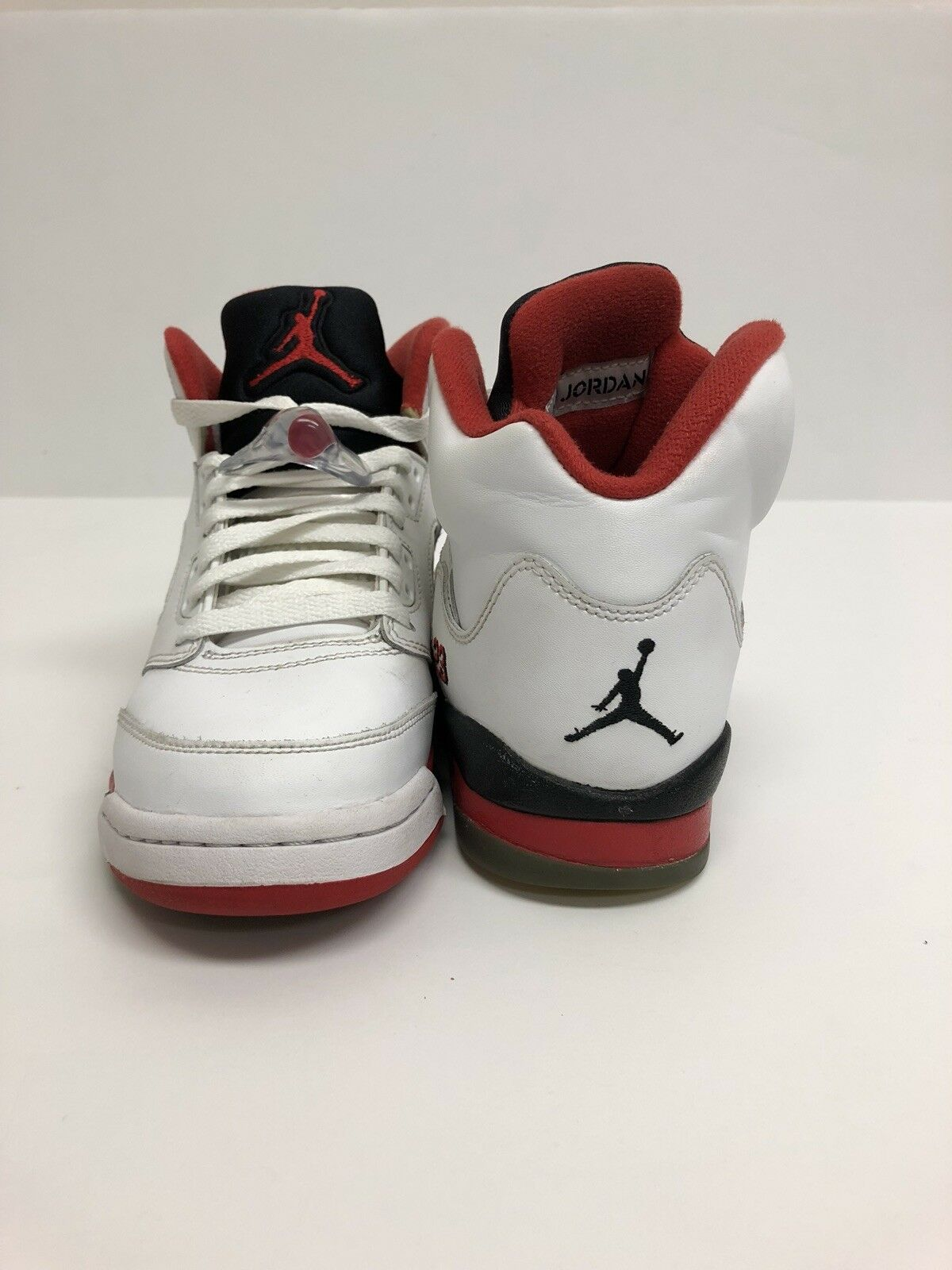 Jordan 5 Fire Red 4y