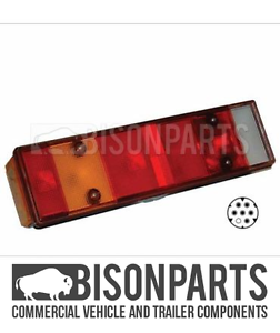 *RENAULT KERAX REAR COMBIANTION LAMP PASSENGER SIDE LH BP90-027 1997-2013