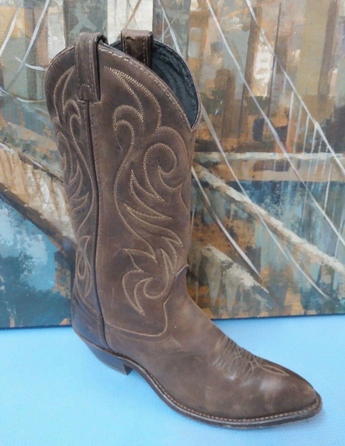 Code West  Men Größe 6 M, Style 81731 braun Western Stiefel USA