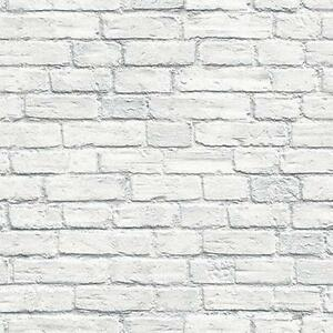 Wallpaper-Designer-White-and-Gray-Washed-Brick-Wall-Looks-Real-Up