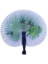 Papel japonés Ventilador Plegable Geisha Chinas Orientales Fancy Dress Accesorio Nuevo