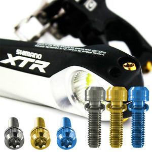 Shimano-Titanium-crank-arm-bolts-Fits-All-Shimano-Cranks-Same-day-shipping