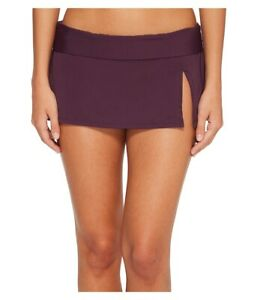 Bleu-Rod-Beattie-Women-039-s-174388-Skirted-Hipster-Bikini-Bottom-Aubergine-Size-8
