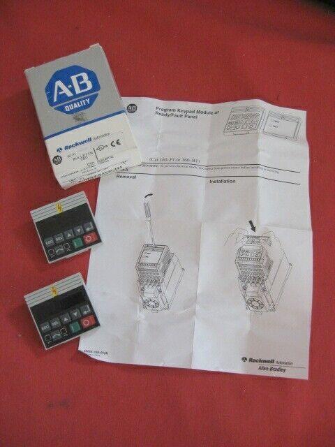 (2) Allen Bradley 160-P1 Program Keypad Module Series A