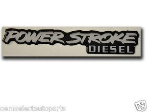 Image Is Loading OEM NEW Ford Powerstroke Diesel Badge 6 0