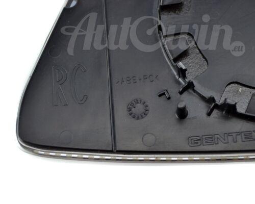 BMW 5 SERIES F10//F11//F18 MIRROR GLASS AUTO DIM HEATED RIGHT SIDE ORIGINAL OEM