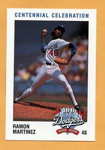 Details About 1990 Dodgers Police Baseball Card 48 Ramon Martinez