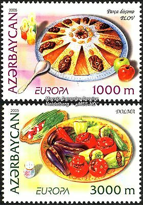 Aserbaidschan Azerbaijan Europa Cept 2005, Gastronomie, Satz ** Kmpl. (postfr.)