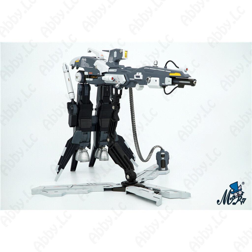 Mr R. stor Hyper Mega Cannon Backsback Klä upp Resin Kit för MG ZZ Gundam ver ka.