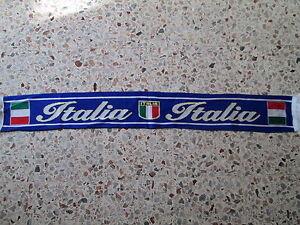 D16 Sciarpa Italia Football Federation Association Scarf Schal Bufanda Italy Moins Cher