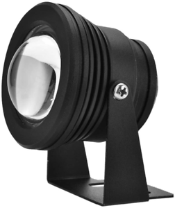 Submersible Spotlight Pond Lights Remote Control 12V 10W RGB Waterproof Aquarium