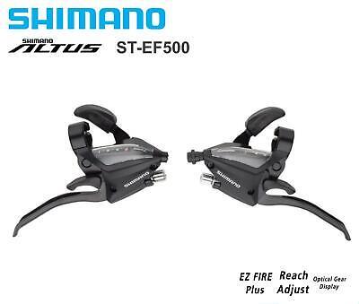 Genuine OEM Shimano ST-EF500 3x8 S  Shifter Brake Lever Combo for Mountain Bike