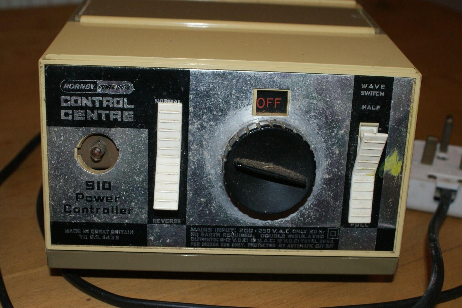 VINTAGE Hornby oo gauge R910 Control Centre Power Controler