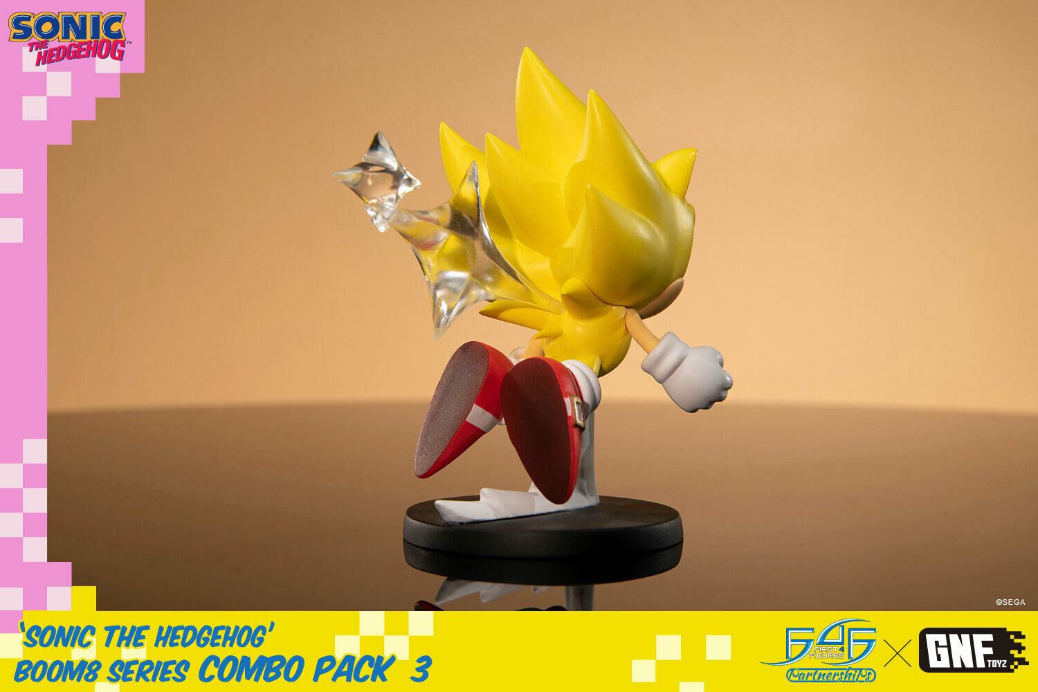 Sonic The Hedgehog Boom8 Series Figure Volume 1 For Sale Online Ebay