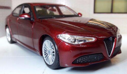 Alfa Romeo Giulia 1:24 Maßstab 2017 Druckguss Detaillierte Modell 21080 V6