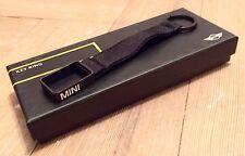 Porte cle noir Bmw Mini R53 R56 Keyring Llavero portachiavi Original Genuine R55