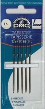 1 x Packet of 5 Tapestry Needles DMC 1767/2 077540382644 Size 16 NEW