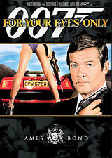 007 For Your Eyes Only (DVD) starring Roger Moore Brand New Sealed