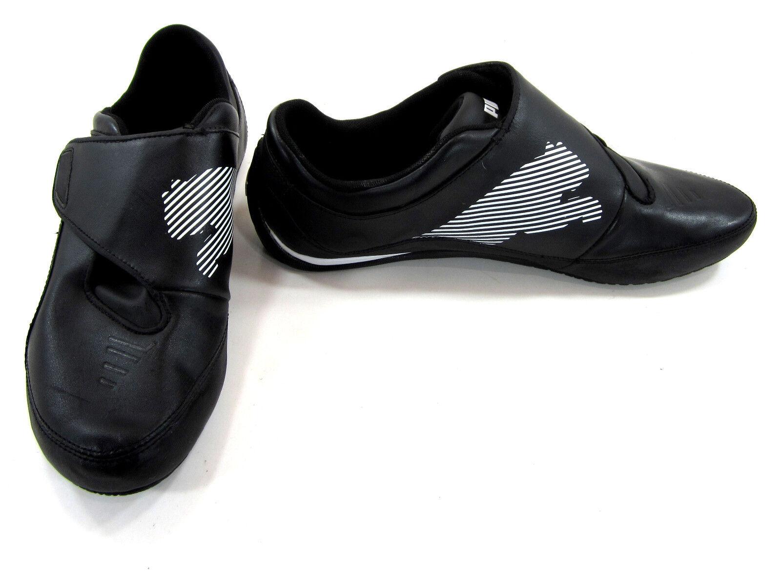 Puma scarpe Drift Cat III 3 CF Leather nero nero nero bianca scarpe da ginnastica Dimensione 9.5 79f193