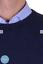 Maglia-Uomo-Basic-Pullover-Girocollo-Maglione-Regular-Fit-misto-lana-cachemire miniature 10