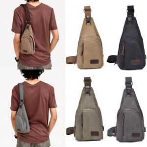 Men-039-s-Military-Canvas-Satchel-Shoulder-Bag-Messenger-Bag-Travel-Hiking-Backpack