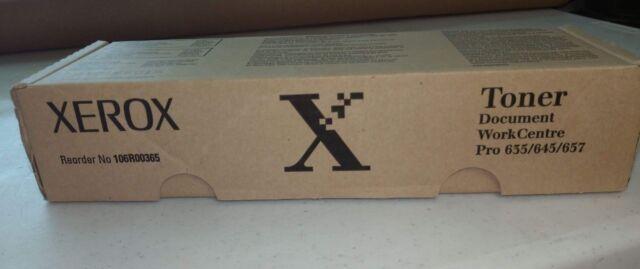New Genuine Xerox Toner Cartridge (106R00365)