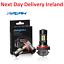 2X-H8-H11-9005-9006-LED-Fog-Light-Lamp-Bulb-Bulbs-3000K-6000K-3030SMD-1200LM thumbnail 1