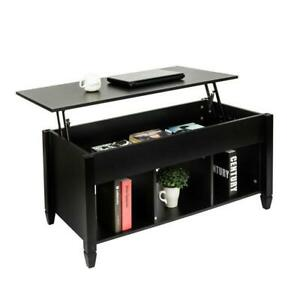 Lift-Top-Coffee-Table-Hidden-Compartment-Storage-Shelves-Modern-Furniture-Living