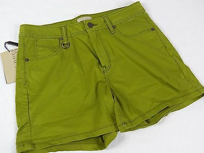 Nwt 195 Womens Burberry Brit Epping Green Shorts Us 31 Asparagus Color Ebay