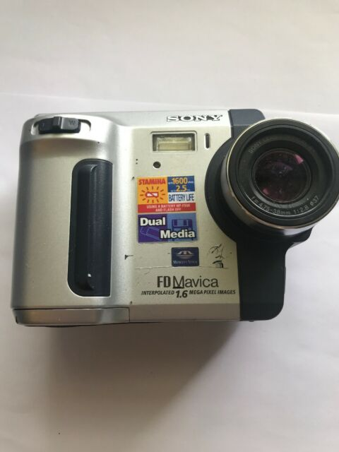 Sony Mavica MVC Fd92 Digital Camera - Untested/for Parts