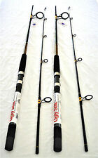 2 SHAKESPEARE UGLY STIK SPINNING RODS BWS1100 7' MED 2 PC NEW SALWATER FISHING