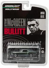 GREENLIGHT 44721 BULLITT 1968 68 FORD MUSTANG GT FASTBACK 1/64 STEVE MCQUEEN