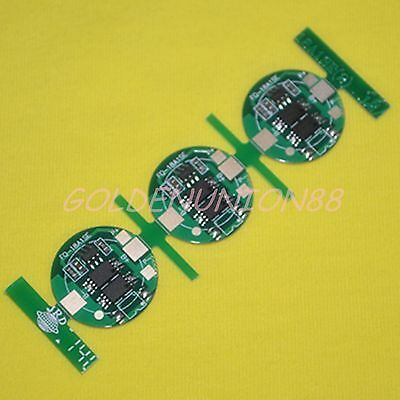 3PC Protection Circuit Board PCB PCM for 3.5A Li-ion battery 18650 18500 17650