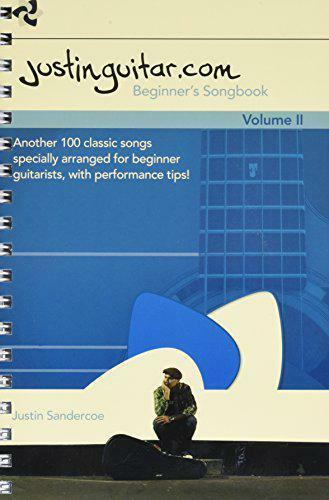 The Justinguitar.Com Beginner's Songbook: Volume 2 by Paperback Book 978178