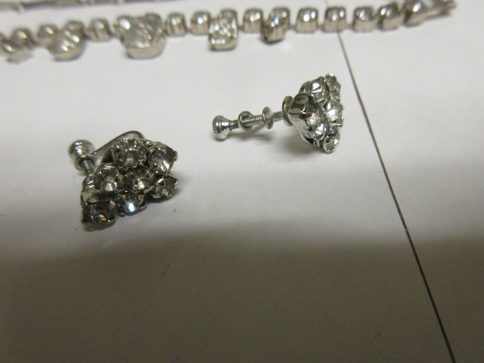 Costume Jewelry ,Vintage ,Bracelets (2) , Earrings (1)